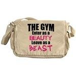Leave beast Messenger Bag