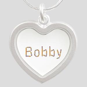 Bobby Pencils Silver Heart Necklace