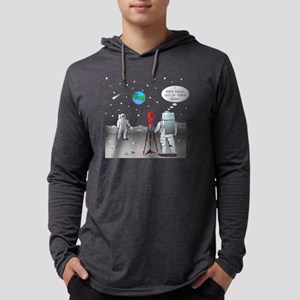 SurveyMoon8 Mens Hooded Shirt