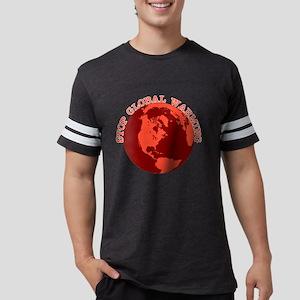 stopglobalwarmingblk Mens Football Shirt
