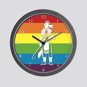 The Gay Indian Wall Clock
