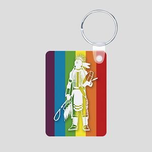 The Gay Indian Aluminum Photo Keychain