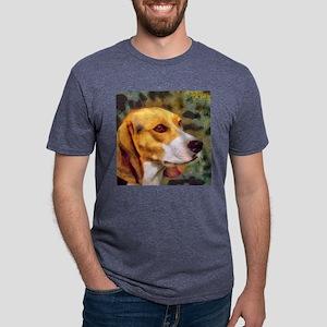 Beagle Mens Tri-blend T-Shirt