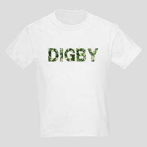 Digby, Vintage Camo, Kids Light T-Shirt