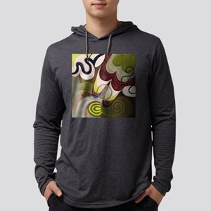 Beth Fowler Art - Coffee Shop Mens Hooded Shirt