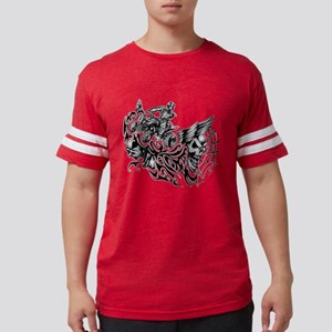 Off-Road Styles Blazed Wickedn Mens Football Shirt