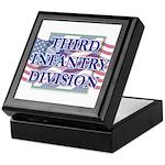 3ID with Flag - Keepsake Box