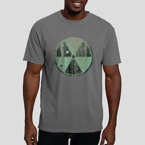 Green grunge distressed  Mens Comfort Colors Shirt