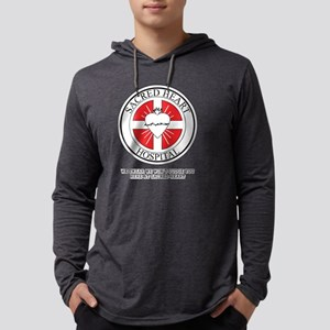 Sacred Heart Hospital Scrubs Mens Hooded Shirt