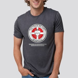Sacred Heart Hospital Scrub Mens Tri-blend T-Shirt
