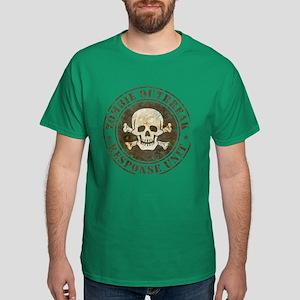 Zombie Outbreak Response Unit Dark T-Shirt