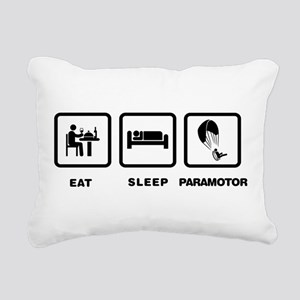 Paramotoring Rectangular Canvas Pillow