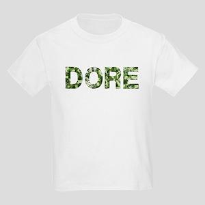 Dore, Vintage Camo, Kids Light T-Shirt