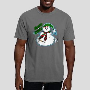 Dang kids snowman Mens Comfort Colors Shirt