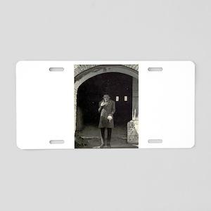 nosferatu Aluminum License Plate