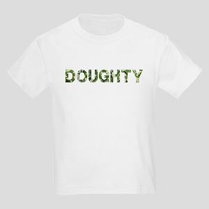 Doughty, Vintage Camo, Kids Light T-Shirt
