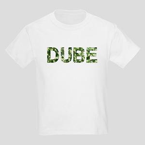 Dube, Vintage Camo, Kids Light T-Shirt