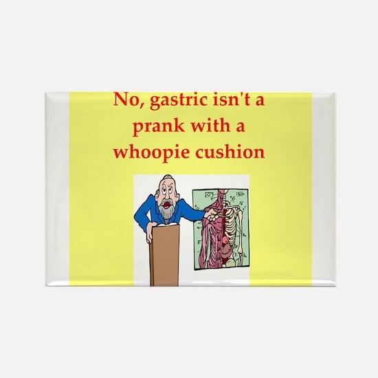 med school joke Rectangle Magnet
