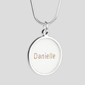 Danielle Pencils Silver Round Necklace