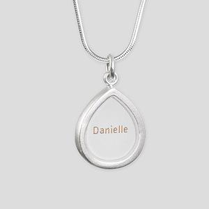 Danielle Pencils Silver Teardrop Necklace