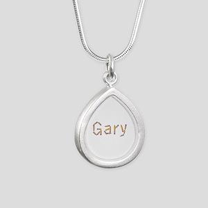 Gary Pencils Silver Teardrop Necklace