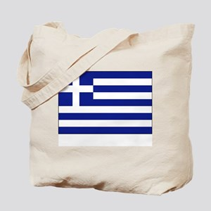 Greece Flag Picture Tote Bag