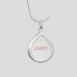 Jalen Pencils Silver Teardrop Necklace