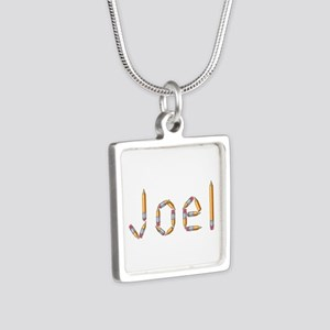 Joel Pencils Silver Square Necklace