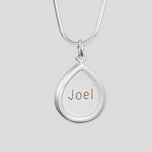 Joel Pencils Silver Teardrop Necklace