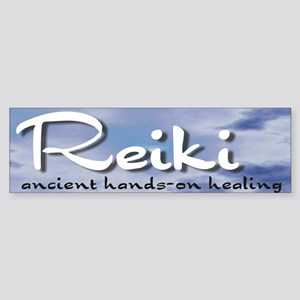 Reiki Hands-On Healing Bumper Sticker