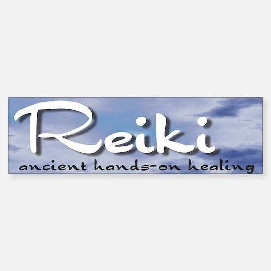 Reiki Hands-On Healing Bumper Bumper Bumper Sticker