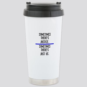 Justice Stainless Steel Travel Mug