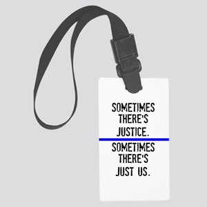 Justice Large Luggage Tag