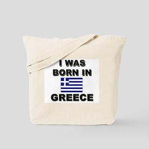 I Was Born In Greece Tote Bag