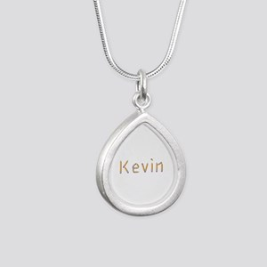 Kevin Pencils Silver Teardrop Necklace