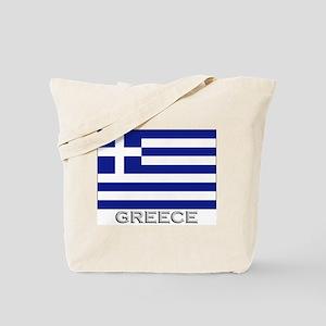 Greece Flag Stuff Tote Bag