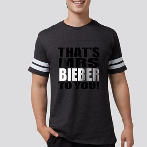 Thats Mrs Bieber To You Mens Football Shirt