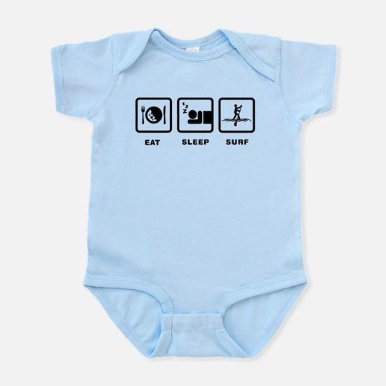 Paddle Surfing Infant Bodysuit