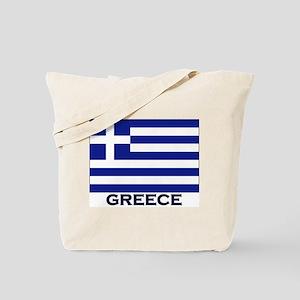 Greece Flag Gear Tote Bag