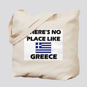 There Is No Place Like Greece Tote Bag