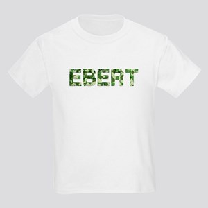 Ebert, Vintage Camo, Kids Light T-Shirt