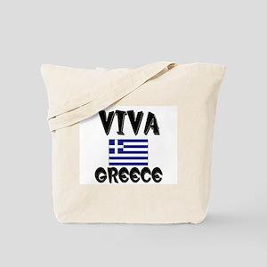 Viva Greece Tote Bag