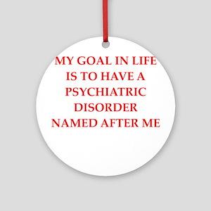psych joke Ornament (Round)