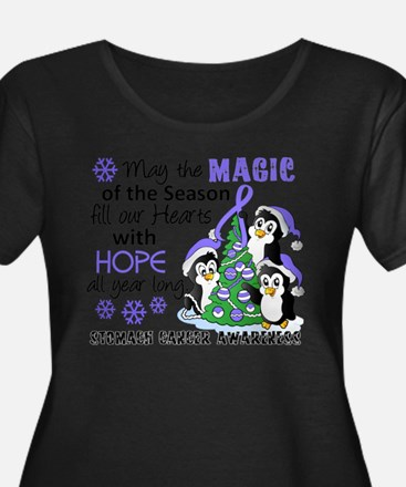 Holiday Penguins Stomach Cancer T