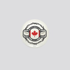 Canada Rugby Mini Button
