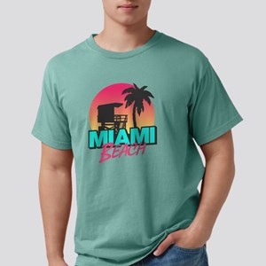 Miami beach Mens Comfort Colors Shirt