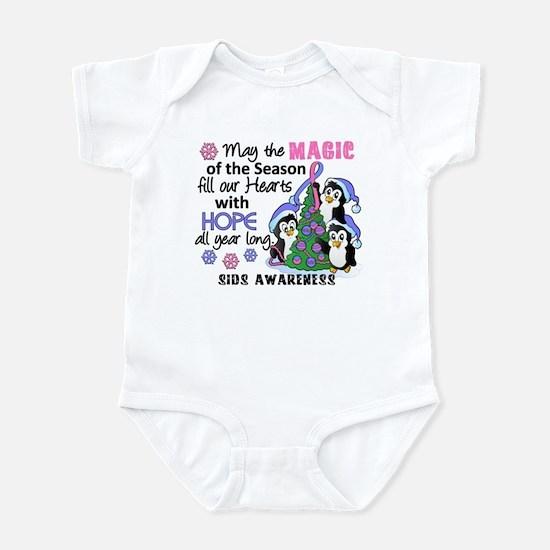 Holiday Penguins SIDS Infant Bodysuit