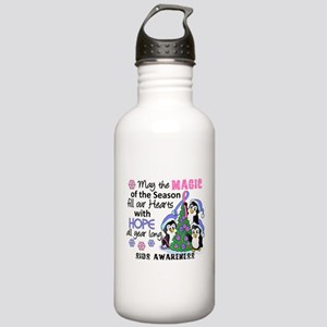 Holiday Penguins SIDS Stainless Water Bottle 1.0L