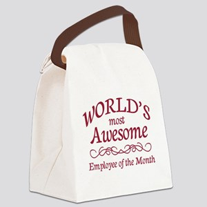 Employee of the Month Canvas Lunch Bag