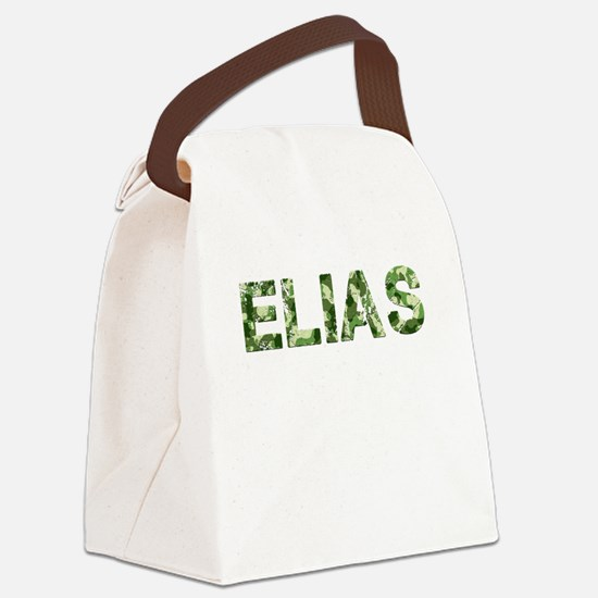 Elias, Vintage Camo, Canvas Lunch Bag